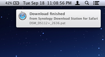 Synology Download Station Extension for Google Chrome & Safari
